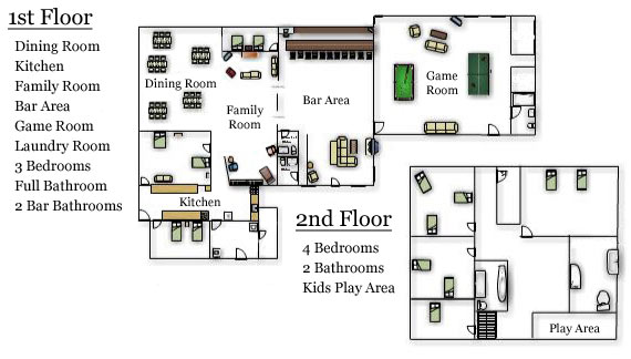 Chippewa River Lodge Floor Plan